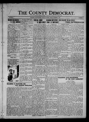 Primary view of object titled 'The County Democrat. (Tecumseh, Okla.), Vol. 28, No. 4, Ed. 1 Friday, October 28, 1921'.