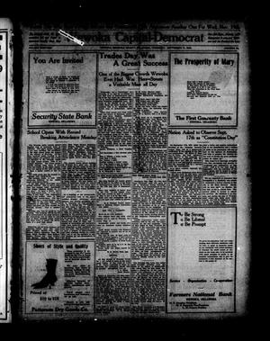 Primary view of object titled 'Wewoka Capital-Democrat (Wewoka, Okla.), Vol. 19, No. 36, Ed. 1 Thursday, September 11, 1919'.