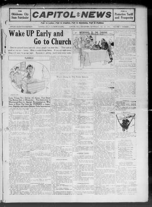 Primary view of object titled 'Capitol Hill News (Capitol Hill, Okla.), Vol. 7, No. 6, Ed. 1 Saturday, October 28, 1911'.