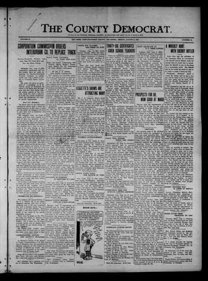 Primary view of object titled 'The County Democrat. (Tecumseh, Okla.), Vol. 27, No. 44, Ed. 1 Friday, August 5, 1921'.