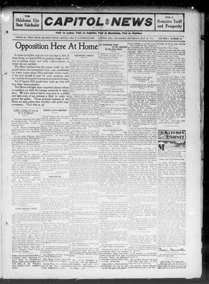 Primary view of object titled 'Capitol Hill News (Capitol Hill, Okla.), Vol. 6, No. 42, Ed. 1 Saturday, July 22, 1911'.