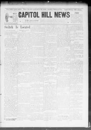 Primary view of object titled 'Capitol Hill News (Capitol Hill, Okla.), Vol. 3, No. 45, Ed. 1 Wednesday, July 29, 1908'.