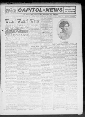 Primary view of object titled 'Capitol Hill News (Capitol Hill, Okla.), Vol. 6, No. 37, Ed. 1 Saturday, June 17, 1911'.
