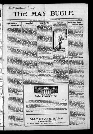 Primary view of The May Bugle. (May, Okla.), Vol. 17, No. 13, Ed. 1 Thursday, December 23, 1920