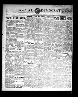 Primary view of object titled 'Social Democrat (Oklahoma City, Okla.), Vol. 1, No. 68, Ed. 1 Wednesday, June 25, 1913'.