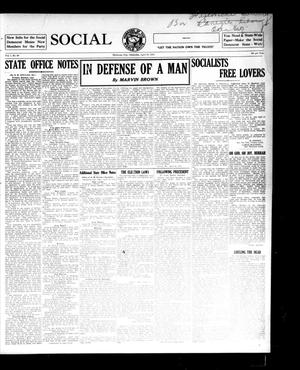 Primary view of object titled 'Social Democrat (Oklahoma City, Okla.), Vol. 1, No. 60, Ed. 1 Wednesday, April 16, 1913'.