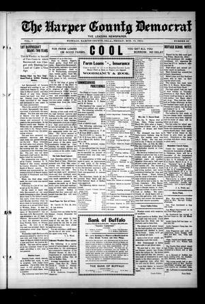 Primary view of object titled 'The Harper County Democrat (Buffalo, Okla.), Vol. 7, No. 46, Ed. 1 Friday, March 13, 1914'.