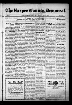 Primary view of object titled 'The Harper County Democrat (Buffalo, Okla.), Vol. 7, No. 6, Ed. 1 Friday, May 30, 1913'.