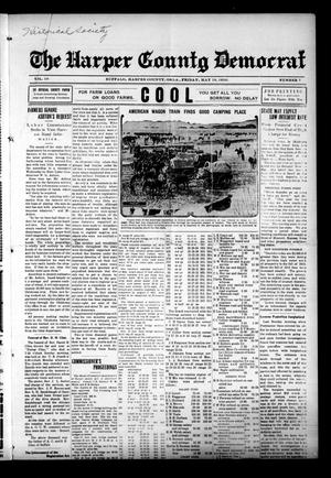 Primary view of object titled 'The Harper County Democrat (Buffalo, Okla.), Vol. 10, No. 7, Ed. 1 Friday, May 19, 1916'.