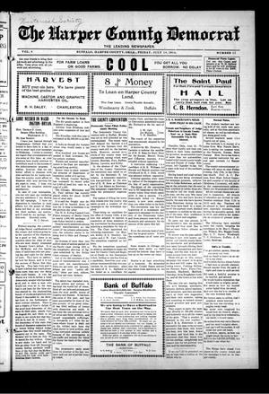 Primary view of The Harper County Democrat (Buffalo, Okla.), Vol. 8, No. 11, Ed. 1 Friday, July 10, 1914