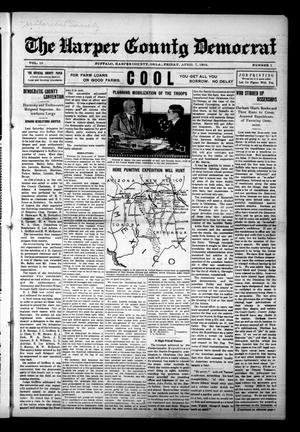 Primary view of object titled 'The Harper County Democrat (Buffalo, Okla.), Vol. 10, No. 1, Ed. 1 Friday, April 7, 1916'.