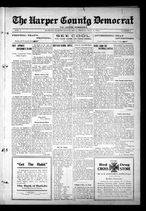 Primary view of object titled 'The Harper County Democrat (Buffalo, Okla.), Vol. 7, No. 2, Ed. 1 Friday, May 2, 1913'.