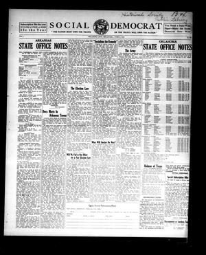 Primary view of object titled 'Social Democrat (Oklahoma City, Okla.), Vol. 1, No. 66, Ed. 1 Wednesday, June 4, 1913'.
