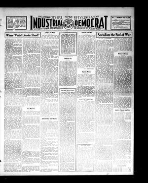 Primary view of object titled 'Industrial Democrat (Oklahoma City, Okla.), Vol. 1, No. 7, Ed. 1 Saturday, February 12, 1910'.