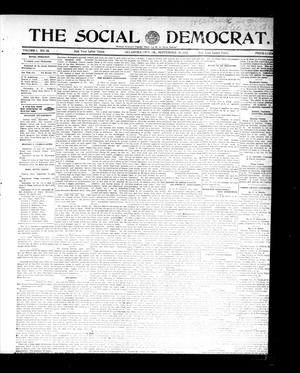 Primary view of object titled 'The Social Democrat. (Oklahoma City, Okla.), Vol. 2, No. 78, Ed. 1 Wednesday, September 10, 1913'.