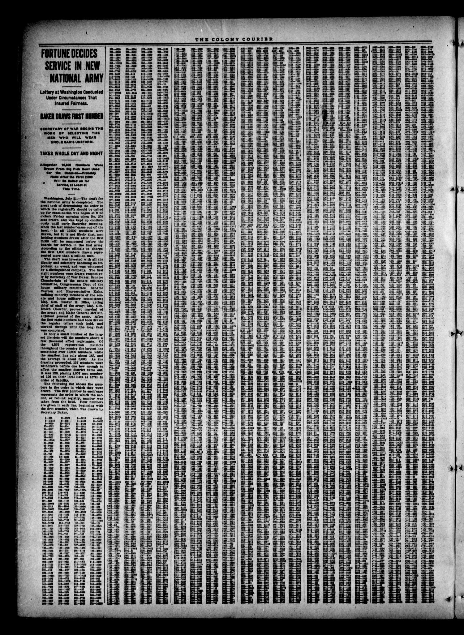 Colony Courier (Colony, Okla.), Vol. 8, No. 49, Ed. 1 Thursday, July 26, 1917                                                                                                      [Sequence #]: 2 of 8