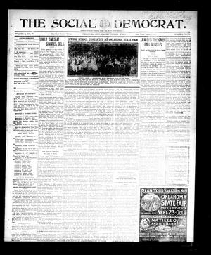 Primary view of object titled 'The Social Democrat. (Oklahoma City, Okla.), Vol. 2, No. 77, Ed. 1 Wednesday, September 3, 1913'.