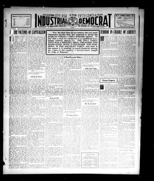 Primary view of object titled 'Industrial Democrat (Oklahoma City, Okla.), Vol. 1, No. 10, Ed. 1 Saturday, March 5, 1910'.