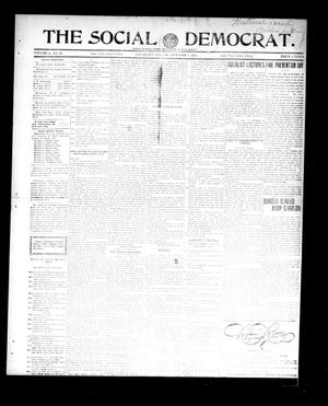 Primary view of object titled 'The Social Democrat. (Oklahoma City, Okla.), Vol. 2, No. 81, Ed. 1 Wednesday, October 1, 1913'.