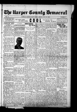 Primary view of object titled 'The Harper County Democrat (Buffalo, Okla.), Vol. 10, No. 17, Ed. 1 Friday, July 28, 1916'.