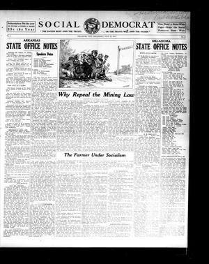 Primary view of object titled 'Social Democrat (Oklahoma City, Okla.), Vol. 1, No. 71, Ed. 1 Wednesday, July 16, 1913'.