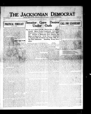 Primary view of object titled 'The Jacksonian Democrat (Oklahoma City, Okla.), Vol. 1, No. 12, Ed. 1 Thursday, December 11, 1913'.