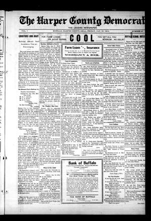 Primary view of object titled 'The Harper County Democrat (Buffalo, Okla.), Vol. 7, No. 40, Ed. 1 Friday, January 23, 1914'.