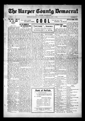Primary view of object titled 'The Harper County Democrat (Buffalo, Okla.), Vol. 7, No. 37, Ed. 1 Friday, January 2, 1914'.