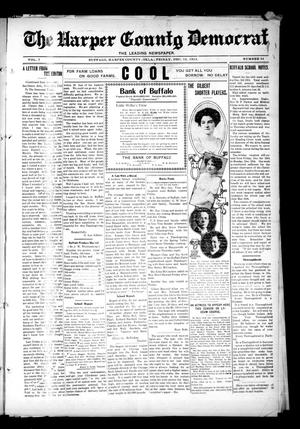 Primary view of object titled 'The Harper County Democrat (Buffalo, Okla.), Vol. 7, No. 34, Ed. 1 Friday, December 12, 1913'.