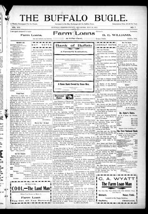 Primary view of object titled 'The Buffalo Bugle. (Buffalo, Okla.), Vol. 8, No. 7, Ed. 1 Thursday, May 16, 1912'.