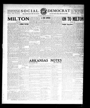 Primary view of object titled 'Social Democrat (Oklahoma City, Okla.), Vol. 1, No. 61, Ed. 1 Wednesday, May 7, 1913'.