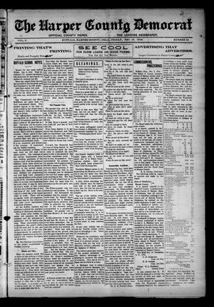 Primary view of object titled 'The Harper County Democrat (Buffalo, Okla.), Vol. 6, No. 34, Ed. 1 Friday, December 13, 1912'.