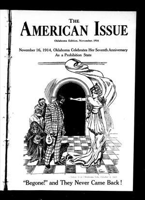 Primary view of object titled 'The American Issue (Oklahoma City, Okla.), Vol. 10, No. 11, Ed. 1 Sunday, November 1, 1914'.