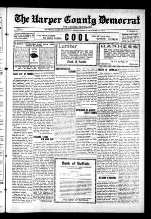 Primary view of object titled 'The Harper County Democrat (Buffalo, Okla.), Vol. 8, No. 27, Ed. 1 Friday, October 30, 1914'.