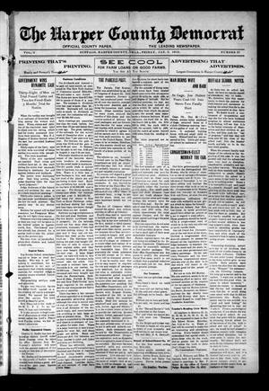 Primary view of object titled 'The Harper County Democrat (Buffalo, Okla.), Vol. 6, No. 37, Ed. 1 Friday, January 3, 1913'.