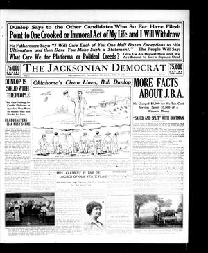 Primary view of object titled 'The Jacksonian Democrat (Oklahoma City, Okla.), Vol. 1, No. 29, Ed. 1 Thursday, June 18, 1914'.