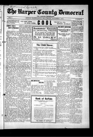 Primary view of object titled 'The Harper County Democrat (Buffalo, Okla.), Vol. 8, No. 20, Ed. 1 Friday, September 11, 1914'.