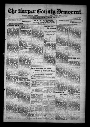 Primary view of object titled 'The Harper County Democrat (Buffalo, Okla.), Vol. 6, No. 22, Ed. 1 Friday, September 20, 1912'.