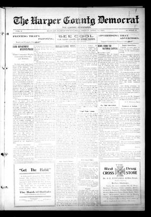Primary view of object titled 'The Harper County Democrat (Buffalo, Okla.), Vol. 6, No. 52, Ed. 1 Friday, April 18, 1913'.