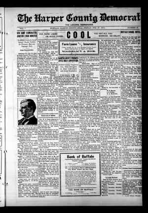Primary view of object titled 'The Harper County Democrat (Buffalo, Okla.), Vol. 7, No. 45, Ed. 1 Friday, February 27, 1914'.