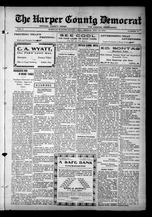 Primary view of object titled 'The Harper County Democrat (Buffalo, Okla.), Vol. 6, No. 31, Ed. 1 Friday, November 22, 1912'.