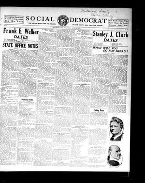 Primary view of object titled 'Social Democrat (Oklahoma City, Okla.), Vol. 1, No. 61, Ed. 1 Wednesday, April 23, 1913'.