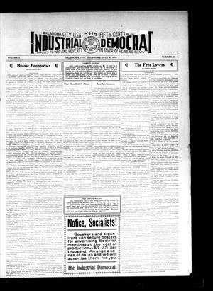 Primary view of object titled 'Industrial Democrat (Oklahoma City, Okla.), Vol. 1, No. 28, Ed. 1 Saturday, July 9, 1910'.