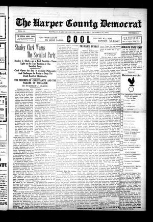 Primary view of object titled 'The Harper County Democrat (Buffalo, Okla.), Vol. 10, No. 29, Ed. 1 Friday, October 20, 1916'.