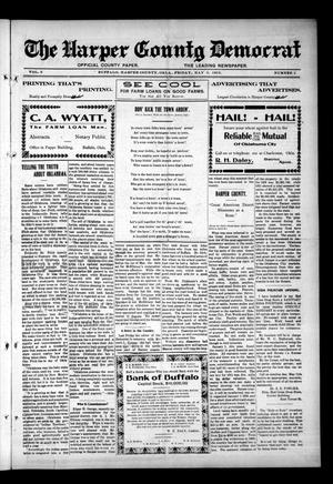 Primary view of object titled 'The Harper County Democrat (Buffalo, Okla.), Vol. 6, No. 2, Ed. 1 Friday, May 3, 1912'.