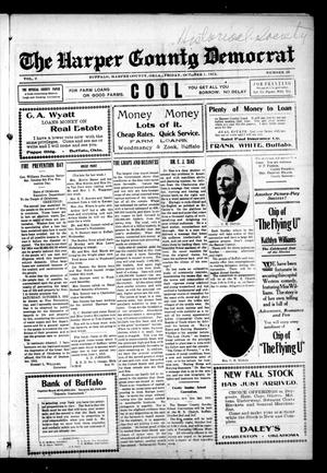 Primary view of object titled 'The Harper County Democrat (Buffalo, Okla.), Vol. 9, No. 26, Ed. 1 Friday, October 1, 1915'.