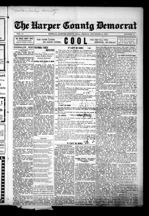 Primary view of object titled 'The Harper County Democrat (Buffalo, Okla.), Vol. 10, No. 23, Ed. 1 Friday, September 8, 1916'.