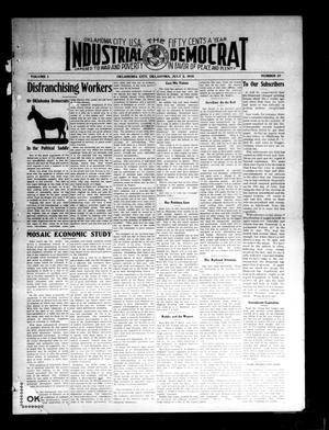 Primary view of object titled 'Industrial Democrat (Oklahoma City, Okla.), Vol. 1, No. 27, Ed. 1 Saturday, July 2, 1910'.