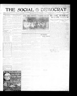 Primary view of object titled 'The Social Democrat. (Oklahoma City, Okla.), Vol. 2, No. 80, Ed. 1 Wednesday, September 24, 1913'.