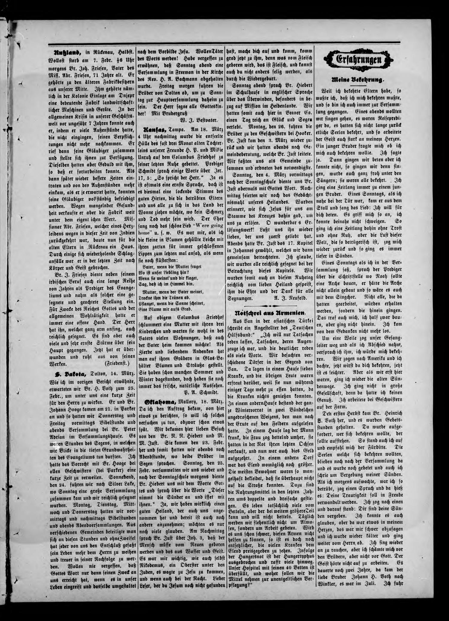 Zions--Bote. (Medford, Okla.), Vol. 22, No. 12, Ed. 1 Wednesday, March 21, 1906                                                                                                      [Sequence #]: 3 of 8